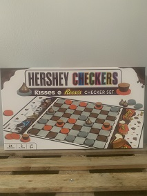 Hershey Checkers Game LARGE