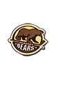 Hershey Bears Primary Logo Pin THUMBNAIL