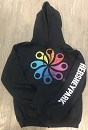 Hersheypark Pinwheel Youth Hooded Sweatshirt THUMBNAIL