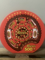 Puzzle Reese's Shaped 500pc THUMBNAIL