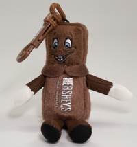 Hersheypark Character Plush Backpack Clip LARGE