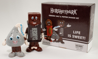 Hersheypark Character Salt & Pepper Shakers LARGE