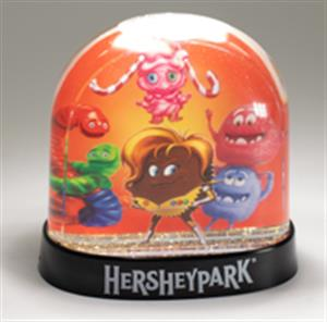 Hersheypark Reese's Cupfusion Double Sided Snowglobe LARGE