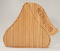 Hershey's KISSES Shaped Cutting Board LARGE