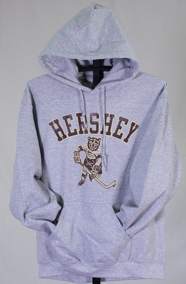 Hershey Bears Adult Skating Bear Hoodie LARGE