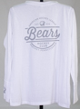 Hershey Bears Long Sleeve Ladies Laces T-shirt SWATCH