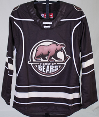 Hershey Bears Youth Jersey Away Replica LARGE