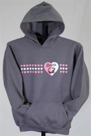 Hershey Bears Youth Girls Hooded Sweatshirt THUMBNAIL