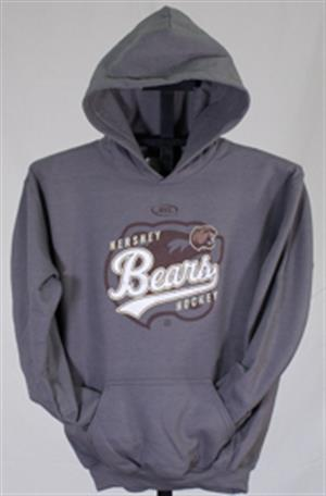 Hershey Bears Youth AHL Hooded Sweatshirt LARGE