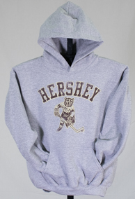 Hershey Bears Youth Skating Bear Hoodie LARGE