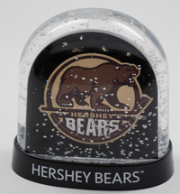 Hershey Bears Snowglobe Double Sided LARGE