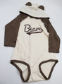 Hershey Bears Long Sleeve Hooded Onesie THUMBNAIL