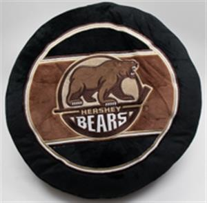 Hershey Bears Plush Puck Pillow LARGE
