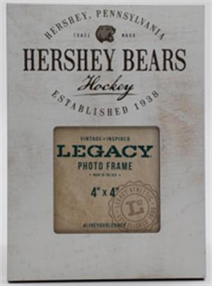 Hershey Bears Weatherboard Picture Frame (4x4) LARGE