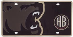 Hershey Bears License Plate Mega LARGE