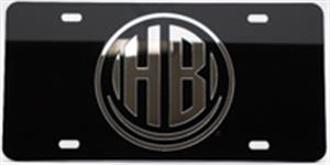 Hershey Bears License Plate Black/Silver LARGE
