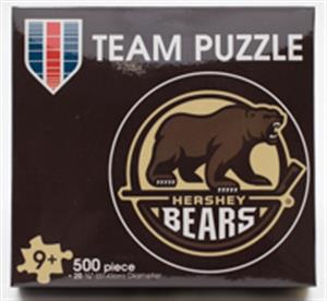 Hershey Bears Primary Logo 500pc. Puzzle LARGE