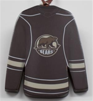 Hershey Bears Hockey Jersey Ornament LARGE