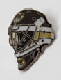 Hershey Bears Goalie Mask Pin THUMBNAIL