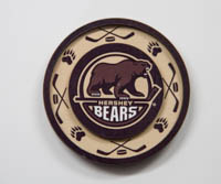Hershey Bears Primary Logo Arches Magnet LARGE