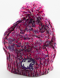 Hershey Bears Youth Honey Pom Knit Hat – Hershey Entertainment ... 445817d853e