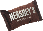 Hershey Bar Pillow THUMBNAIL