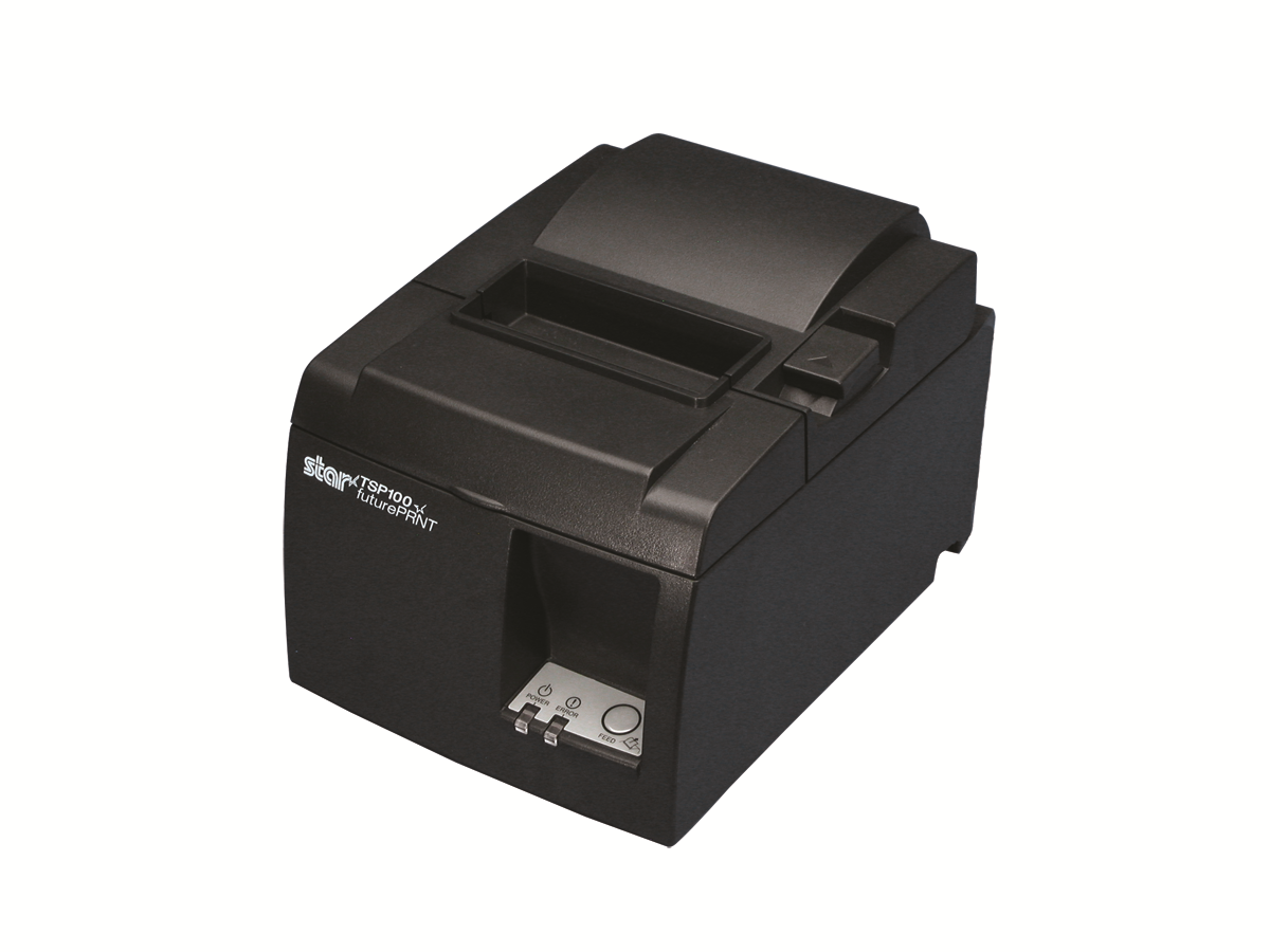 Star Micronics Thermal Receipt Printer, TSP654IIBI-24 GRY