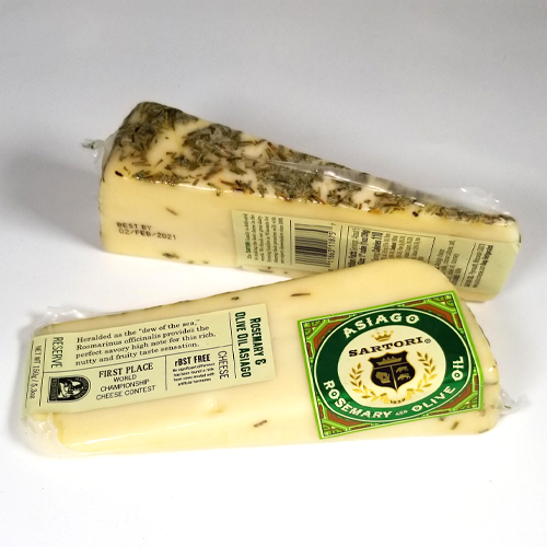 ROSEMARY & OLIVE OIL ASIAGO CHEESE 5.3 OZ THUMBNAIL