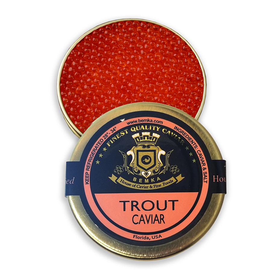 RAINBOW TROUT CAVIAR LARGE