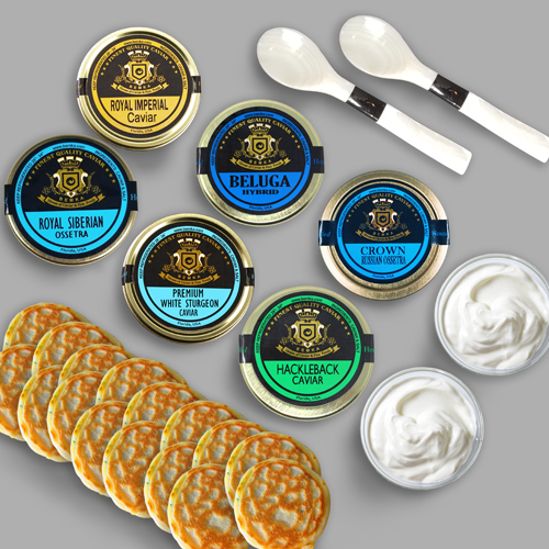 Bemka caviar flight LARGE