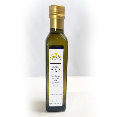 BLACK TRUFFLE OLIVE OIL 250 ML LARGE