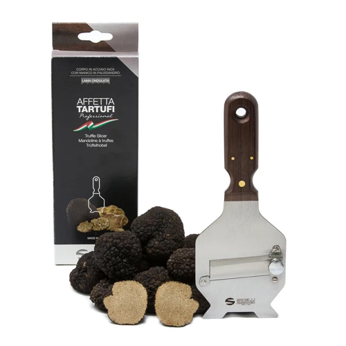 TRUFFLE SLICER WITH WOODEN HANDLE THUMBNAIL