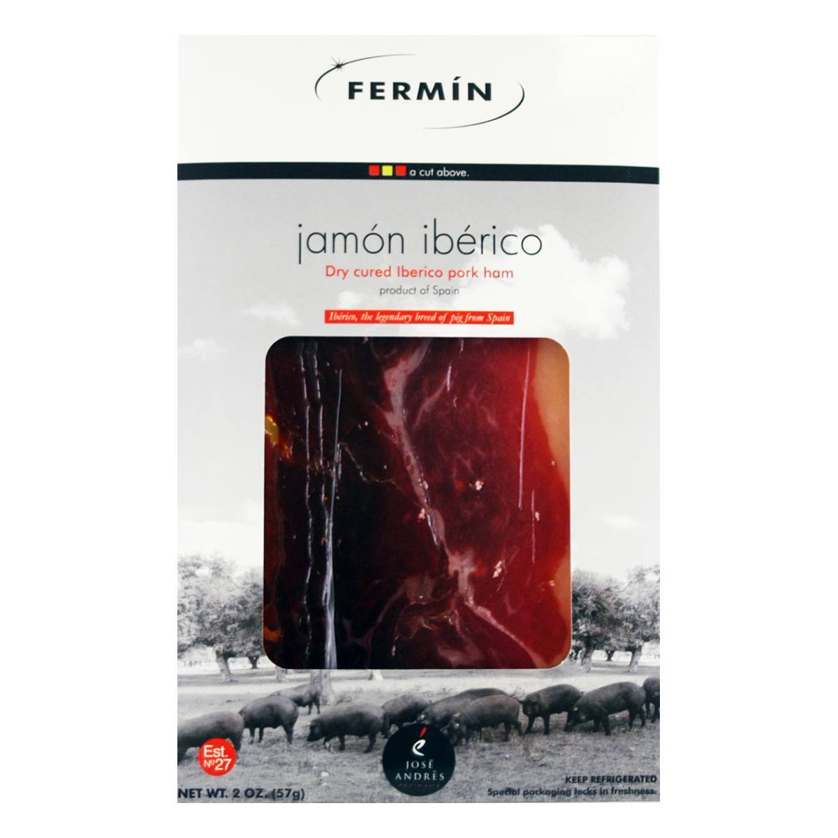 SLICED IBERICO BELLOTA HAM LARGE
