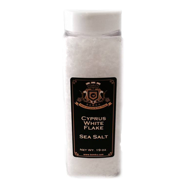 CYPRUS WHITE FLAKE SEA SALT 19 LARGE
