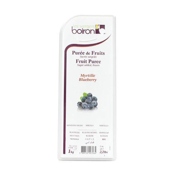 PUREE BLUEBERRY - 1 KG LARGE