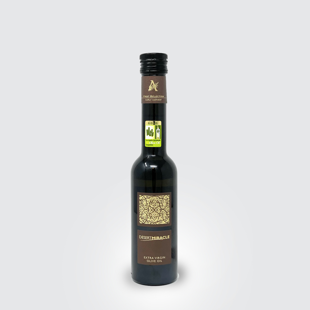 DESERT MIRACLE ORGANIC EXTRA VIRGIN OLIVE OIL 250 ML THUMBNAIL