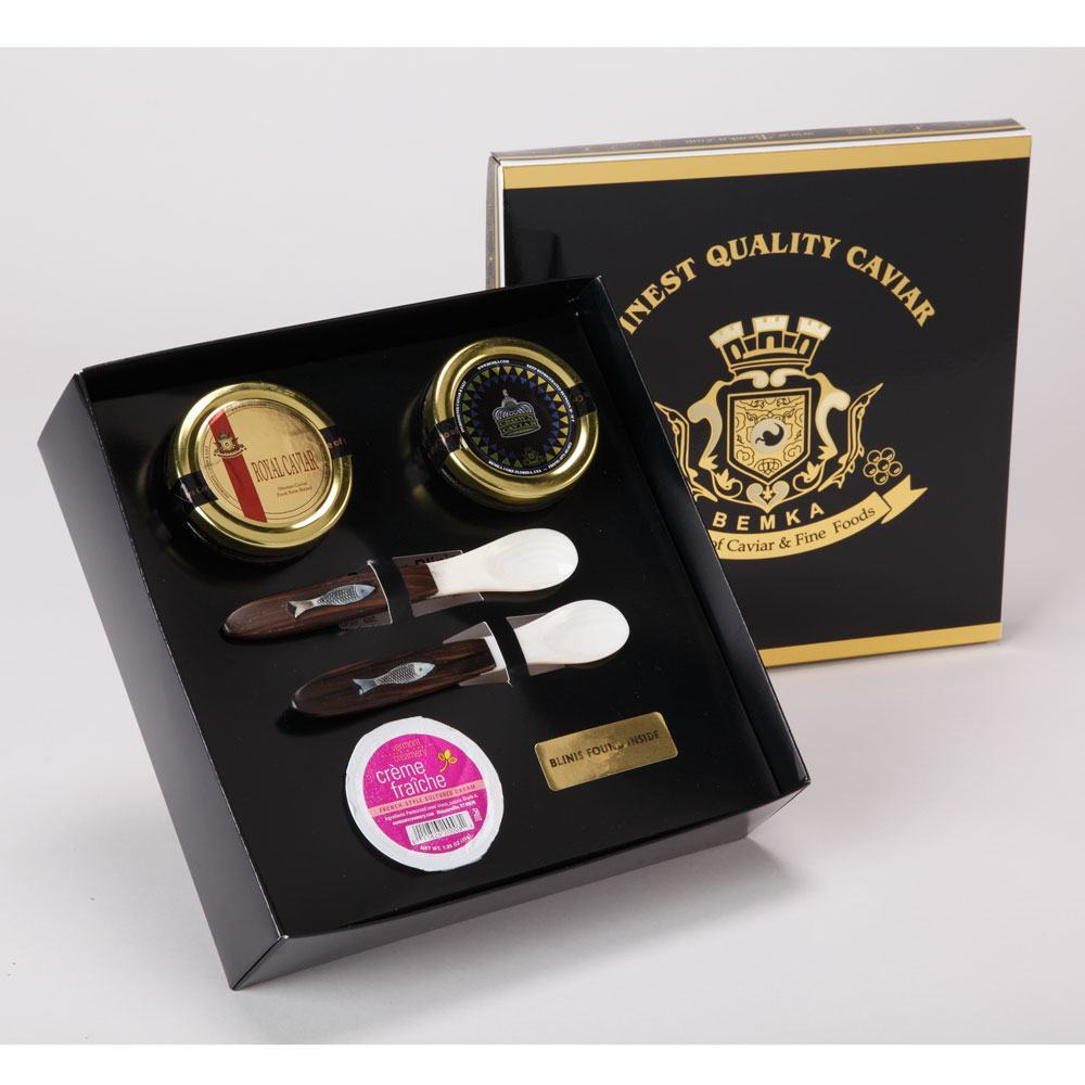 ROYAL CAVIAR GIFT BOX DUO LARGE