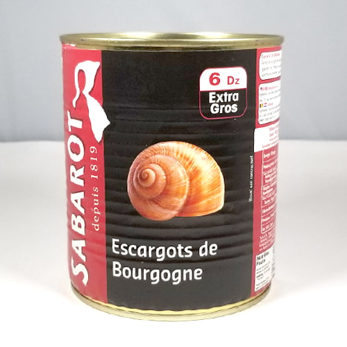 VERY LARGE BURGUNDY SNAILS - Escargot LARGE