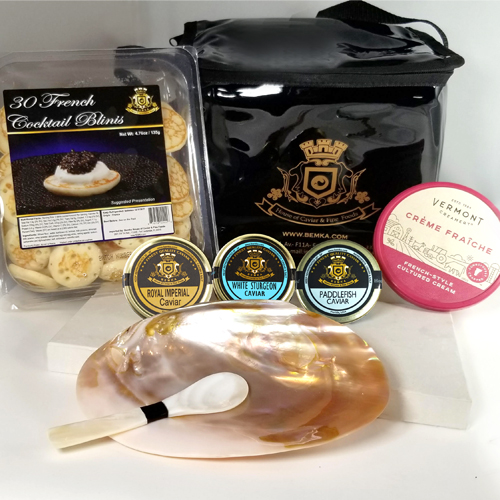 ROYAL CAVIAR GIFT BASKET LARGE