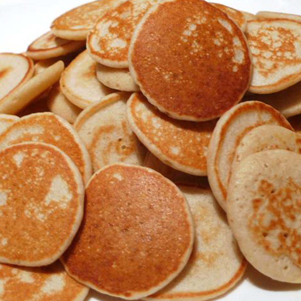 36 RUSSIAN BLINIS CANAPE LARGE