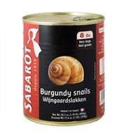 VERY LARGE BURGUNDY SNAILS - Escargot THUMBNAIL