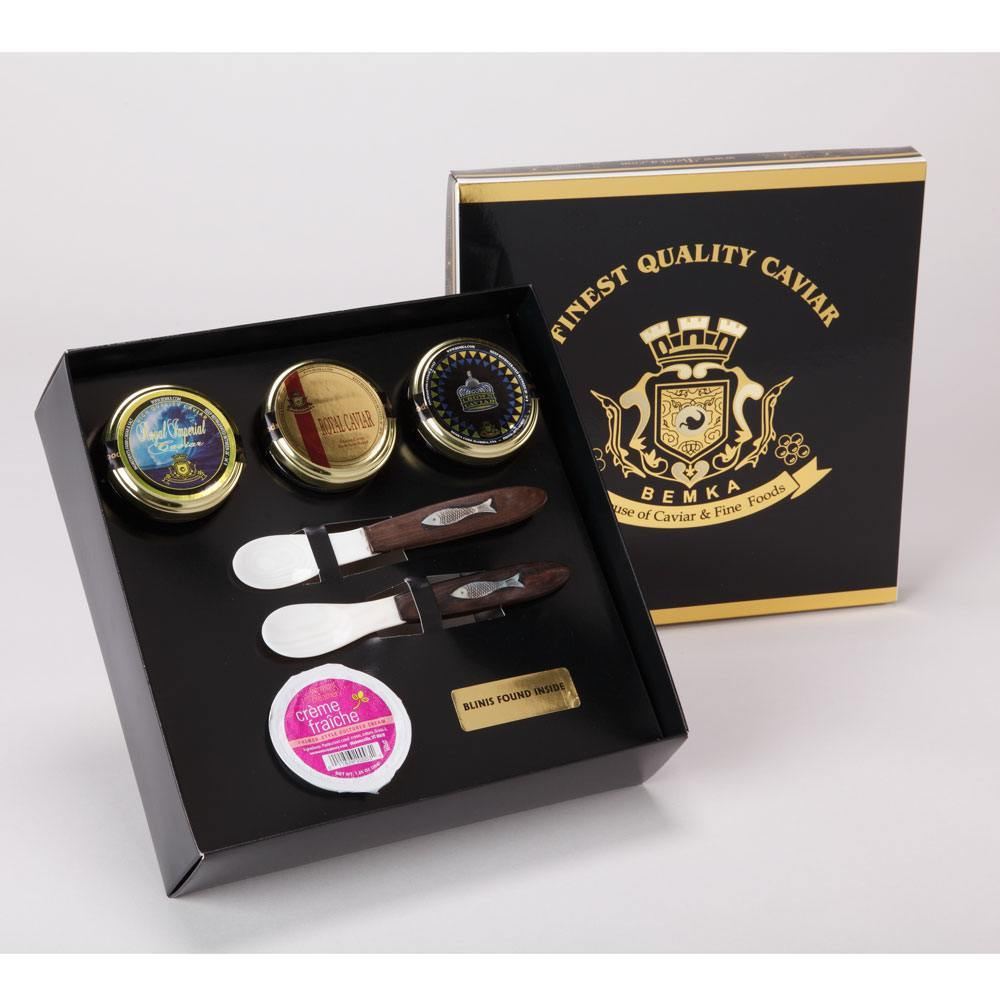 ROYAL CAVIAR GIFT BOX TRIAD LARGE