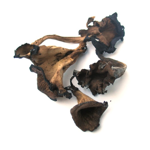 DRIED BLACK TRUMPETS  1 LB THUMBNAIL