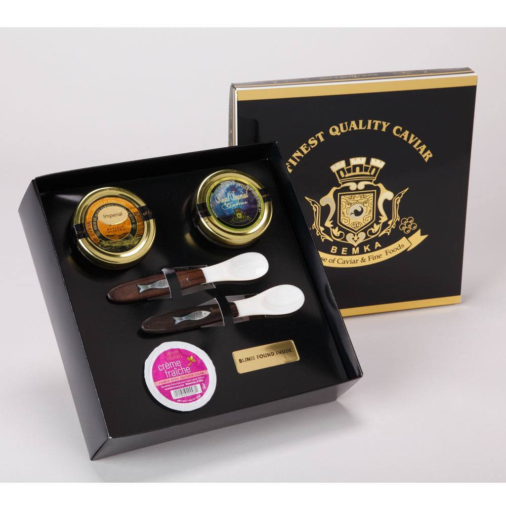 PRESTIGE CAVIAR GIFT BOX DUO LARGE