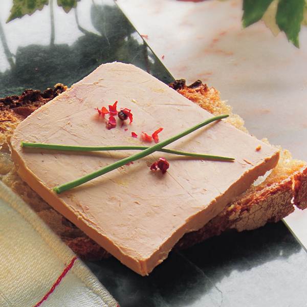 TERRINE OF FOIE GRAS HUDSON VALLEY 8 0Z LARGE