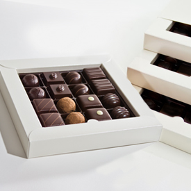 Dark Chocolate Three Layer Box