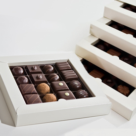 Dark Chocolate Four Layer Box