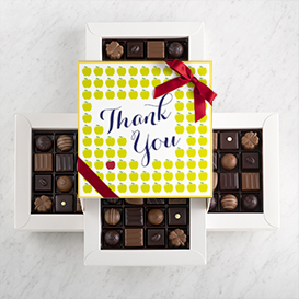 Deluxe Four Layer Teacher Appreciation Box MAIN