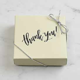 Four Piece Thank You Gift Box SWATCH