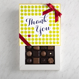 Deluxe One Layer Teacher Appreciation Box MAIN